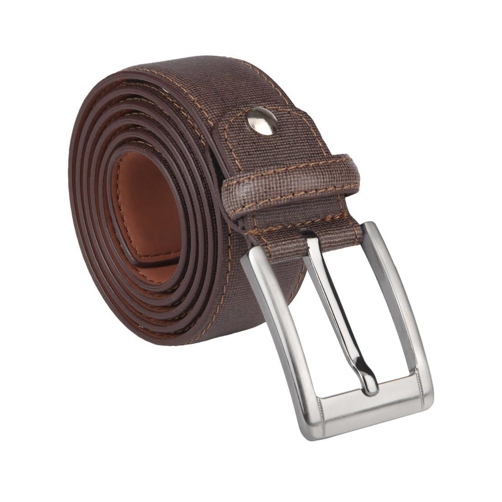 Park Avenue Brown Leather Belt