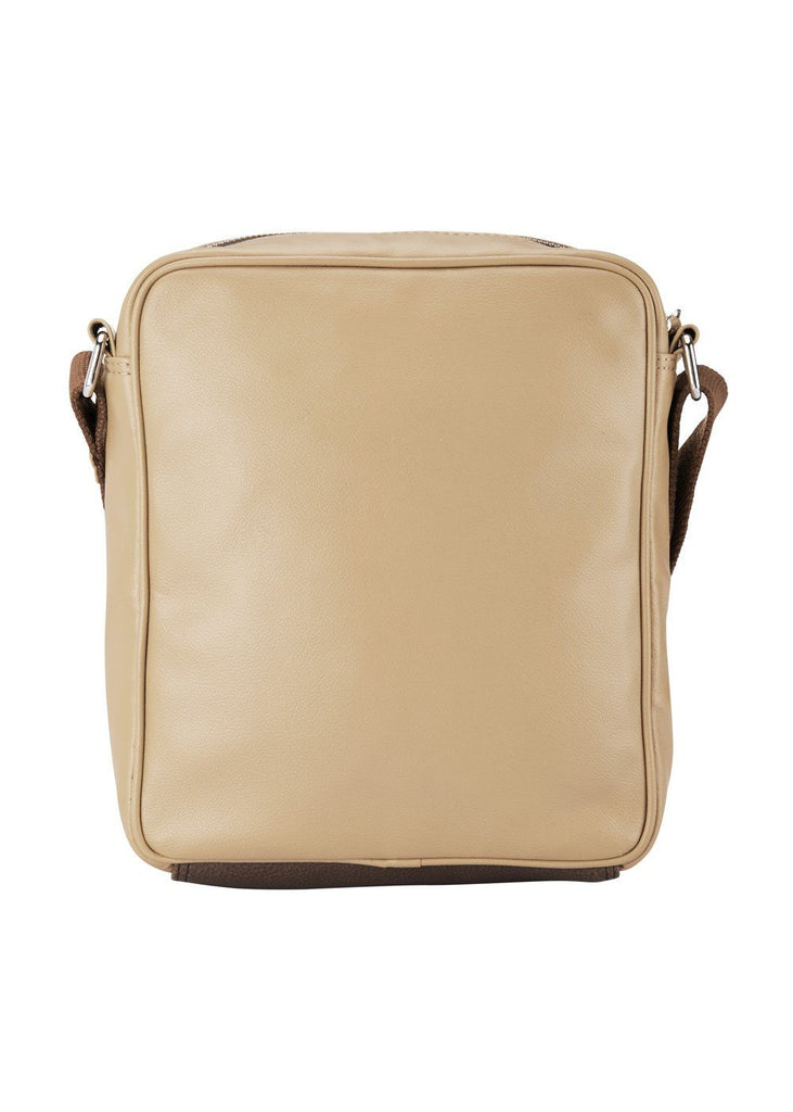 Park Avenue Beige Poly Urathane Bag