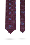 Park Avenue Purple Polyester Tie & Pocket Square