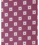 Park Avenue Maroon Polyester Tie & Pocket Square