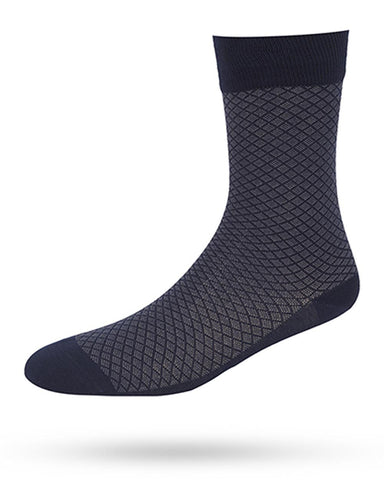 Park Avenue  Blue Slim Fit Socks