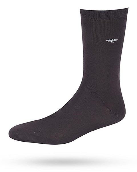 Park Avenue  Grey Slim Fit Socks