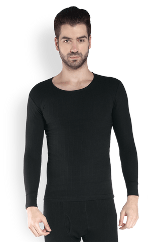 Park Avenue  Black Regular Fit Thermal Wear