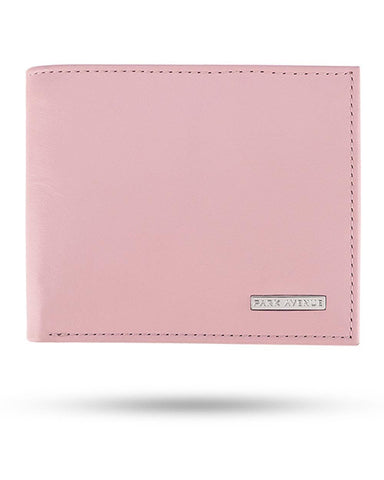 Park Avenue Pink Leather Wallet