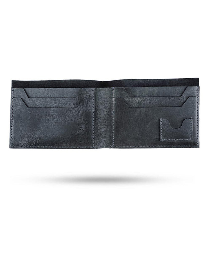 Park Avenue Blue Leather Wallets