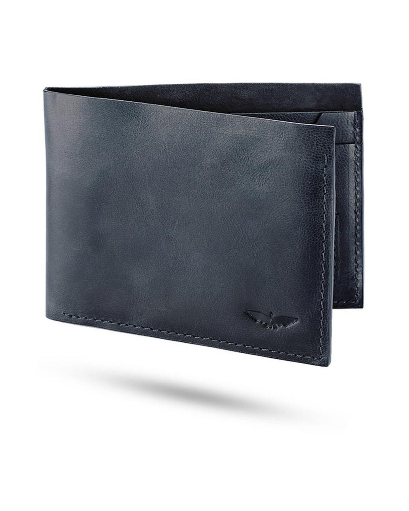 Park Avenue Blue Leather Wallet