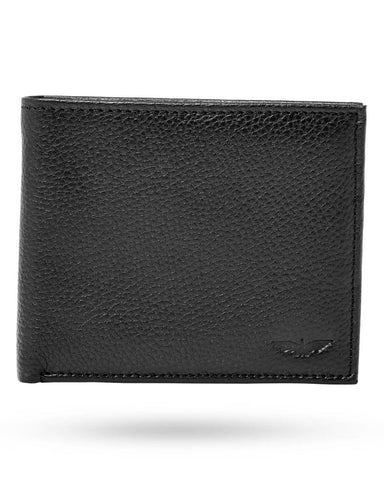 Park Avenue Black Leather Wallet