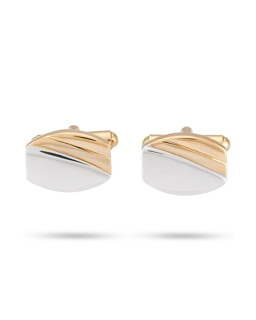 Park Avenue Gold Metal Cufflinks
