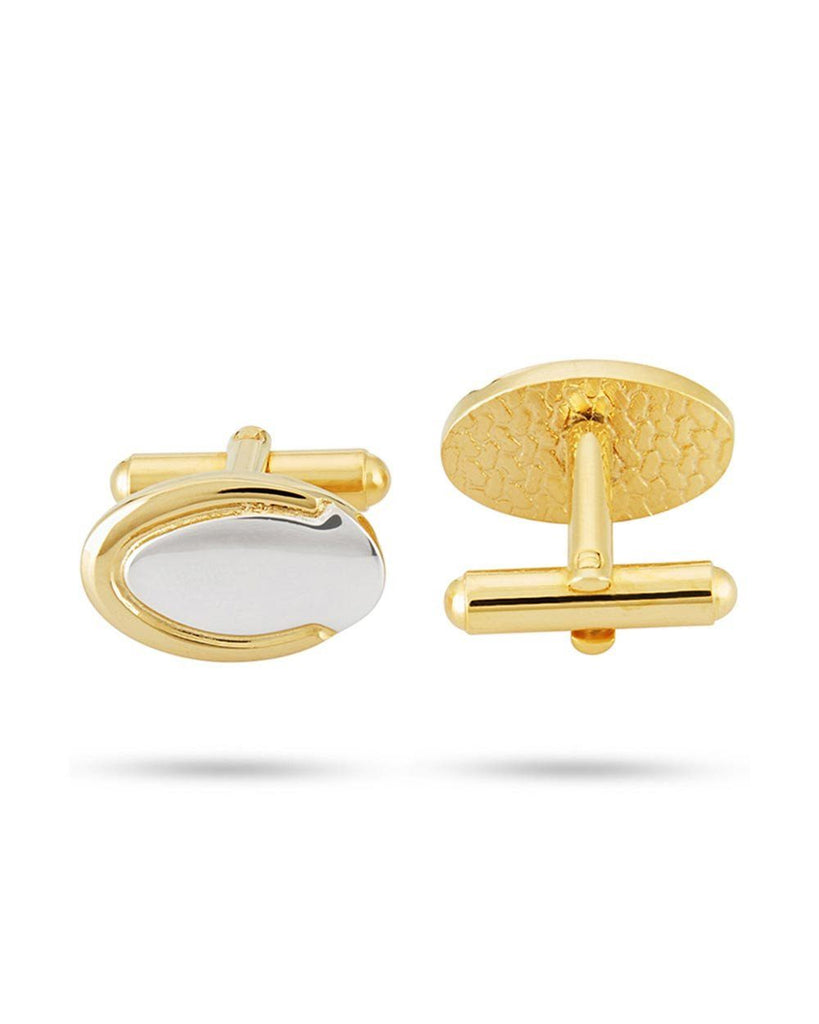 Park Avenue Gold Metal Cufflink