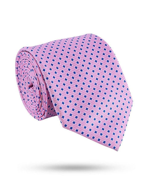 Park Avenue Pink Polyester Tie
