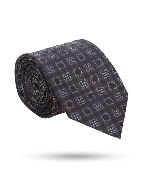 Park Avenue Grey Polyester Ties