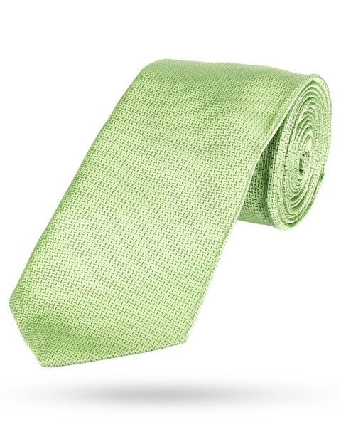 Park Avenue Green Polyester Tie