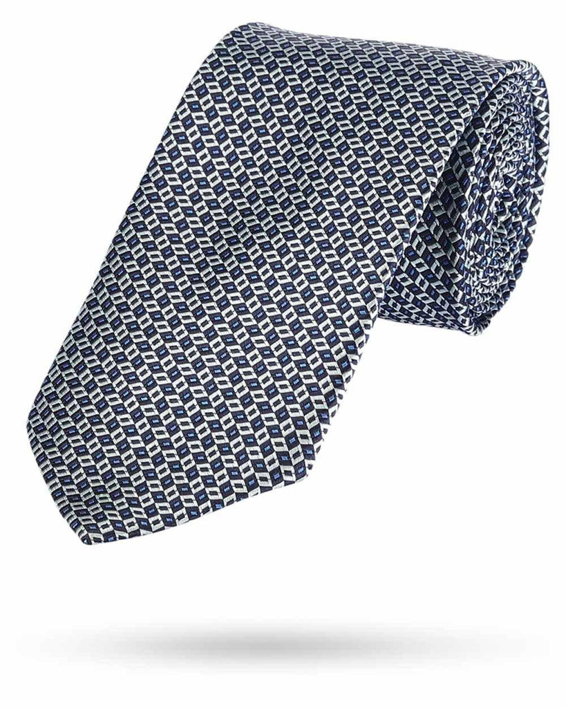 Park Avenue Blue Silk Tie