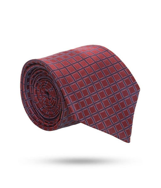 Park Avenue Red Polyester Ties
