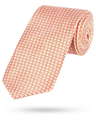 Park Avenue Orange Polyester Tie
