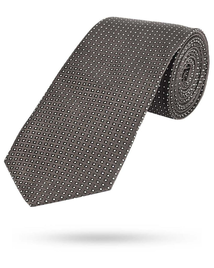 Park Avenue Brown Polyester Tie