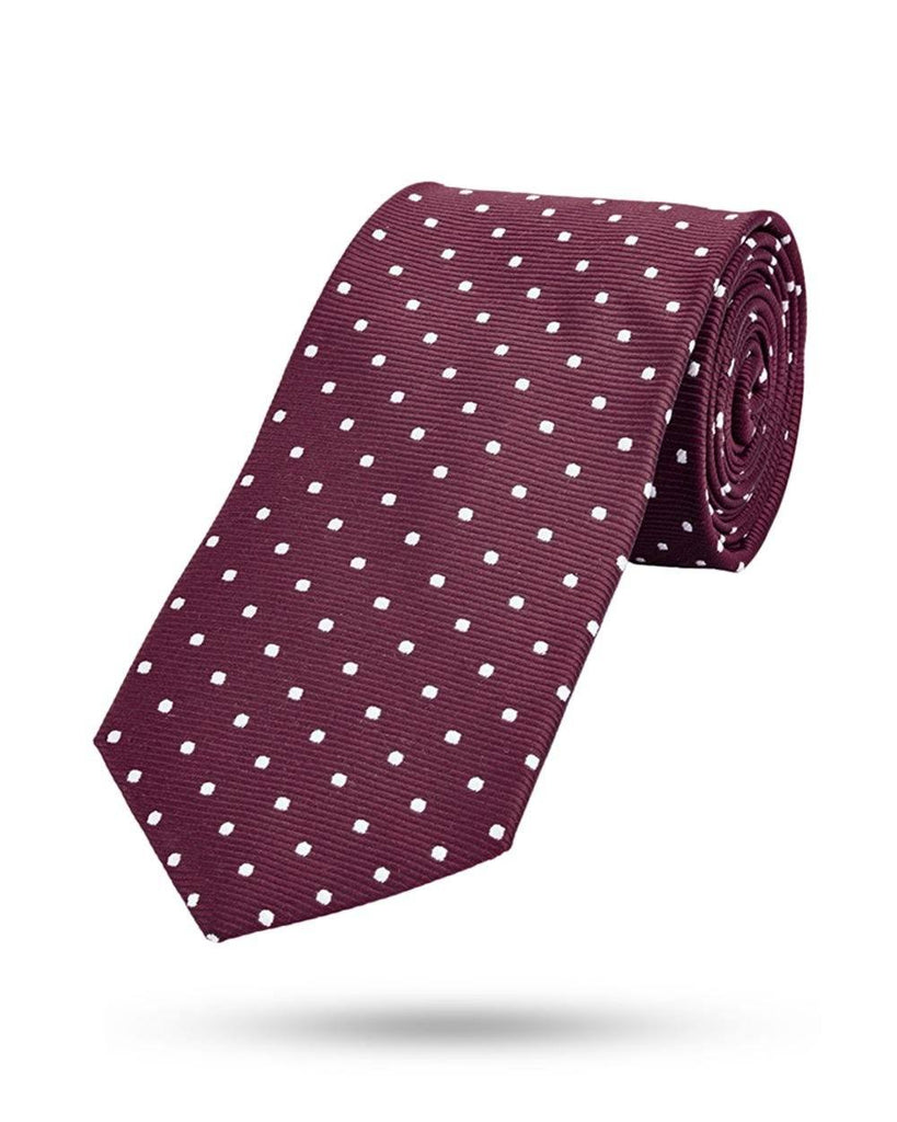 Park Avenue Purple Polyester Tie