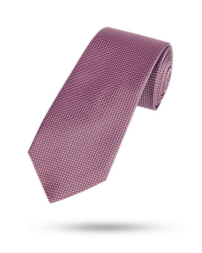 Park Avenue Red Polyester Tie