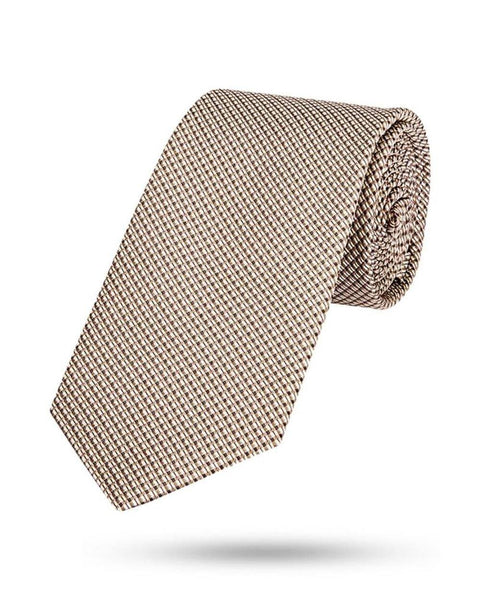 Park Avenue Yellow Polyester Tie