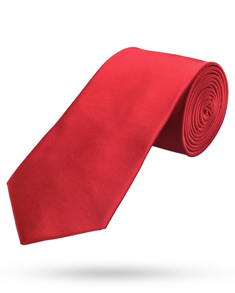 Park Avenue Dark Red Regular Fit Tie
