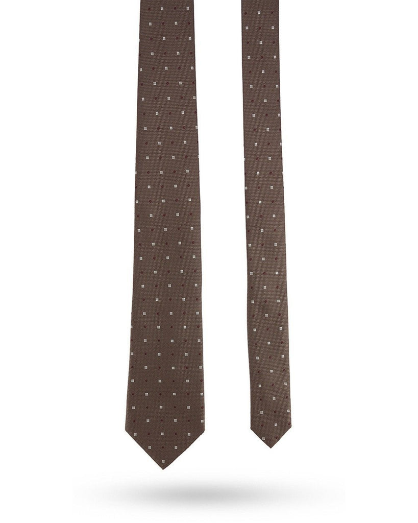 Park Avenue Dark Brown Regular Fit Tie