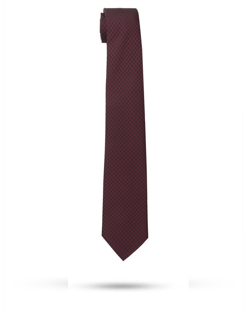 Park Avenue Maroon Regular Fit Neck Tie