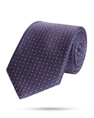 Park Avenue Dark Violet Regular Fit Neck Tie