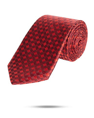Park Avenue Dark Red Regular Fit Neck Tie