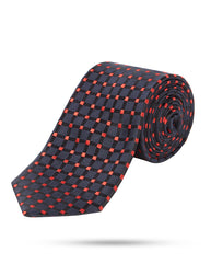 Park Avenue Black Regular Fit Neck Tie