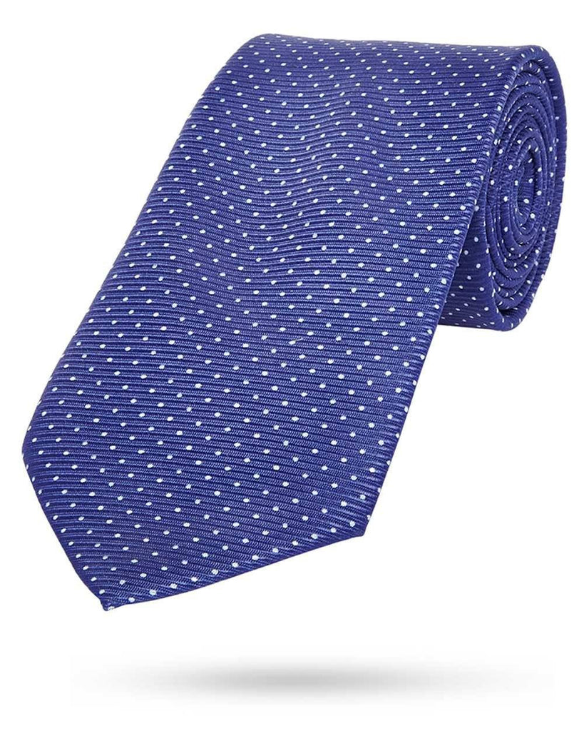 Park Avenue Dark Blue Polyester Tie