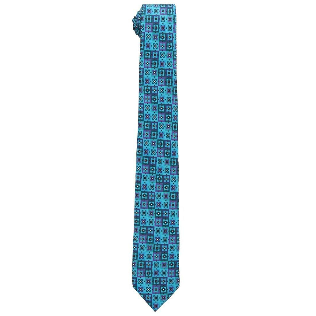 Park Avenue Blue Polyester Ties