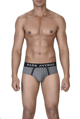 Park Avenue  Blue Slim Fit Brief