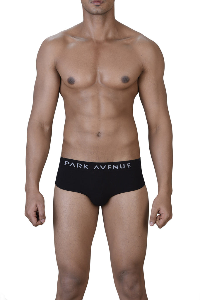 Park Avenue  Black Slim Fit Brief
