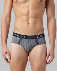 Park Avenue Blue Regular Fit Brief