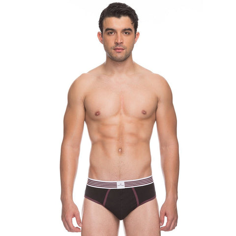 Park Avenue  Maroon Slim Fit Brief