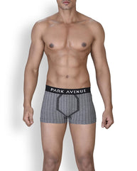 Park Avenue  Grey Slim Fit Trunk