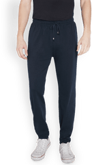 Park Avenue  Dark Blue Regular Fit Lounge Wear