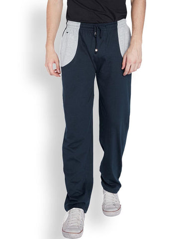 Park Avenue  Blue Regular Fit Lounge Wear