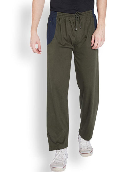 Park Avenue  Brown Regular Fit Lounge Wear