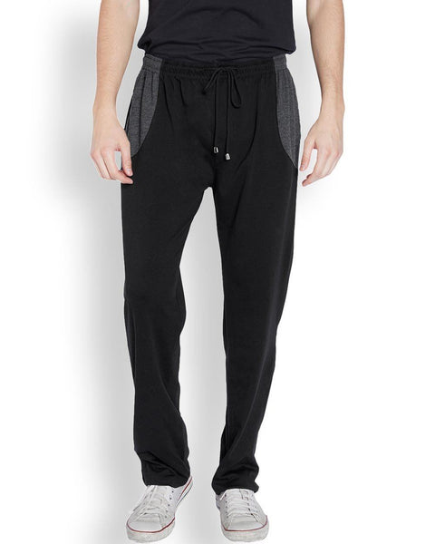 Park Avenue  Black Slim Fit Lounge Wear