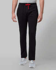 Park Avenue Black Regular Fit Loungewear