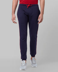 Park Avenue Blue Regular Fit Loungewear