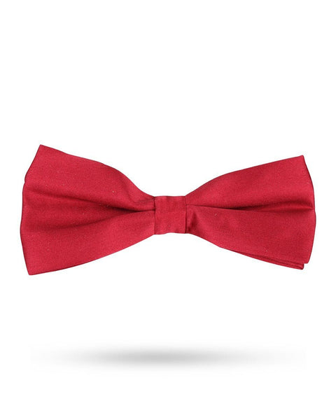 Park Avenue Red Silk Bow Tie