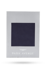 Park Avenue Blue Silk Pocket Square