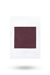 Park Avenue Maroon Silk Pocket Square