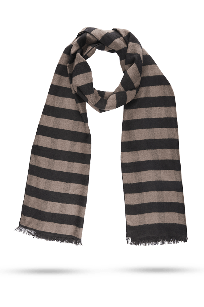 Park Avenue Dark Brown Scarf