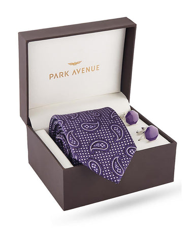 Park Avenue Purple Polyester Blend Giftsets