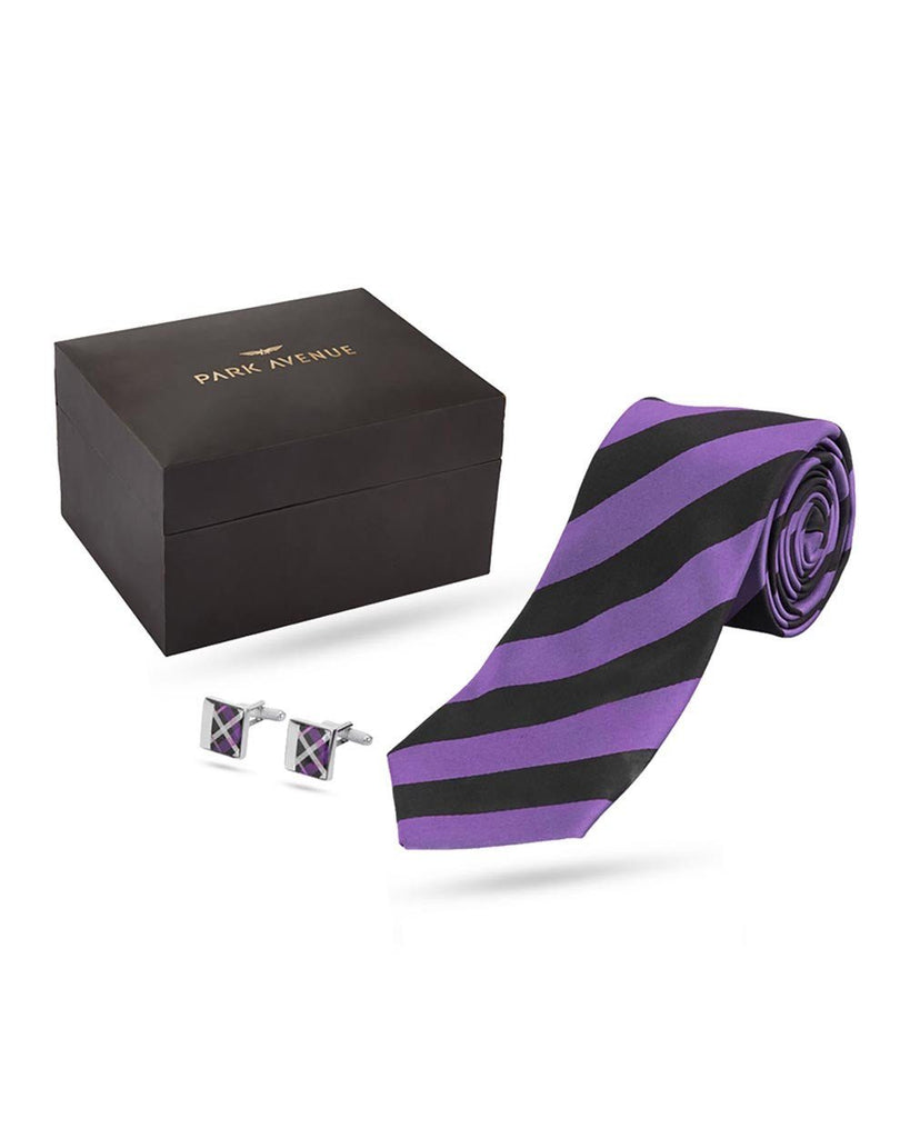 Park Avenue Purple Polyester Blend Giftset