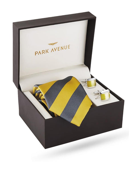Park Avenue Yellow Polyester Blend Giftsets