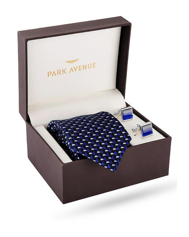 Park Avenue Blue Polyester Blend Giftsets